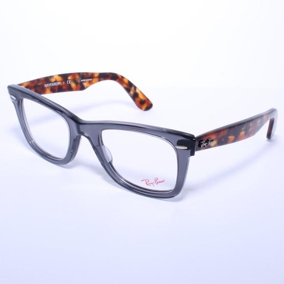fed4191aad Ray Ban Wayfarer Eyeglasses RB5121 5629 Opal Grey.  M 5a341a5b36b9decebd00d245